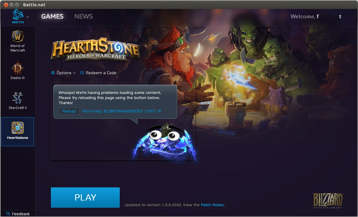 How do I change Battle net account and options under Wine? - General