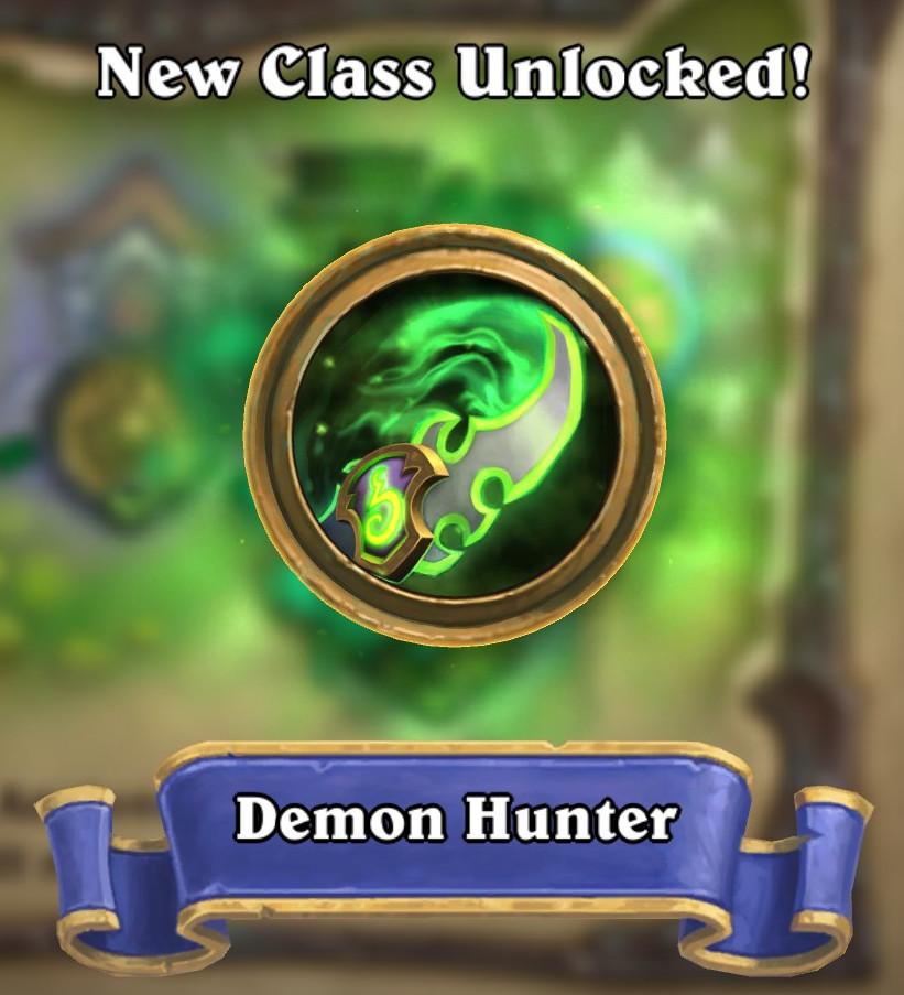 Demon Hunter Unlock