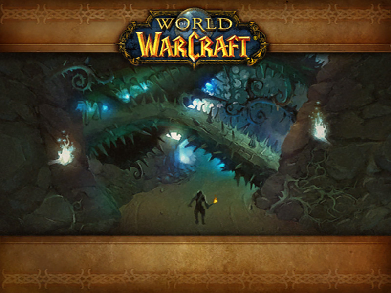 Loading Screen from World of Warcraft - Razorfen Downs Dungeon