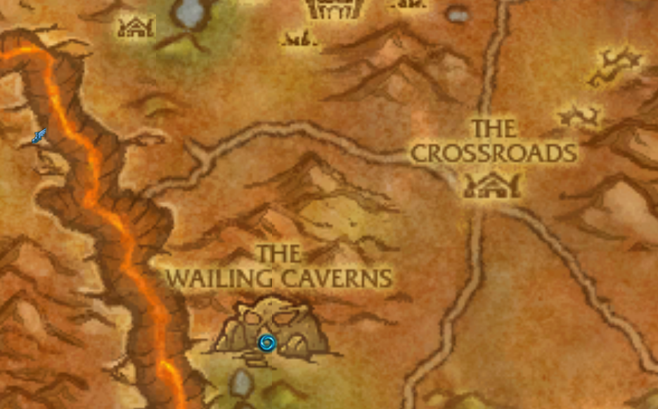 WoW Map - Barrens