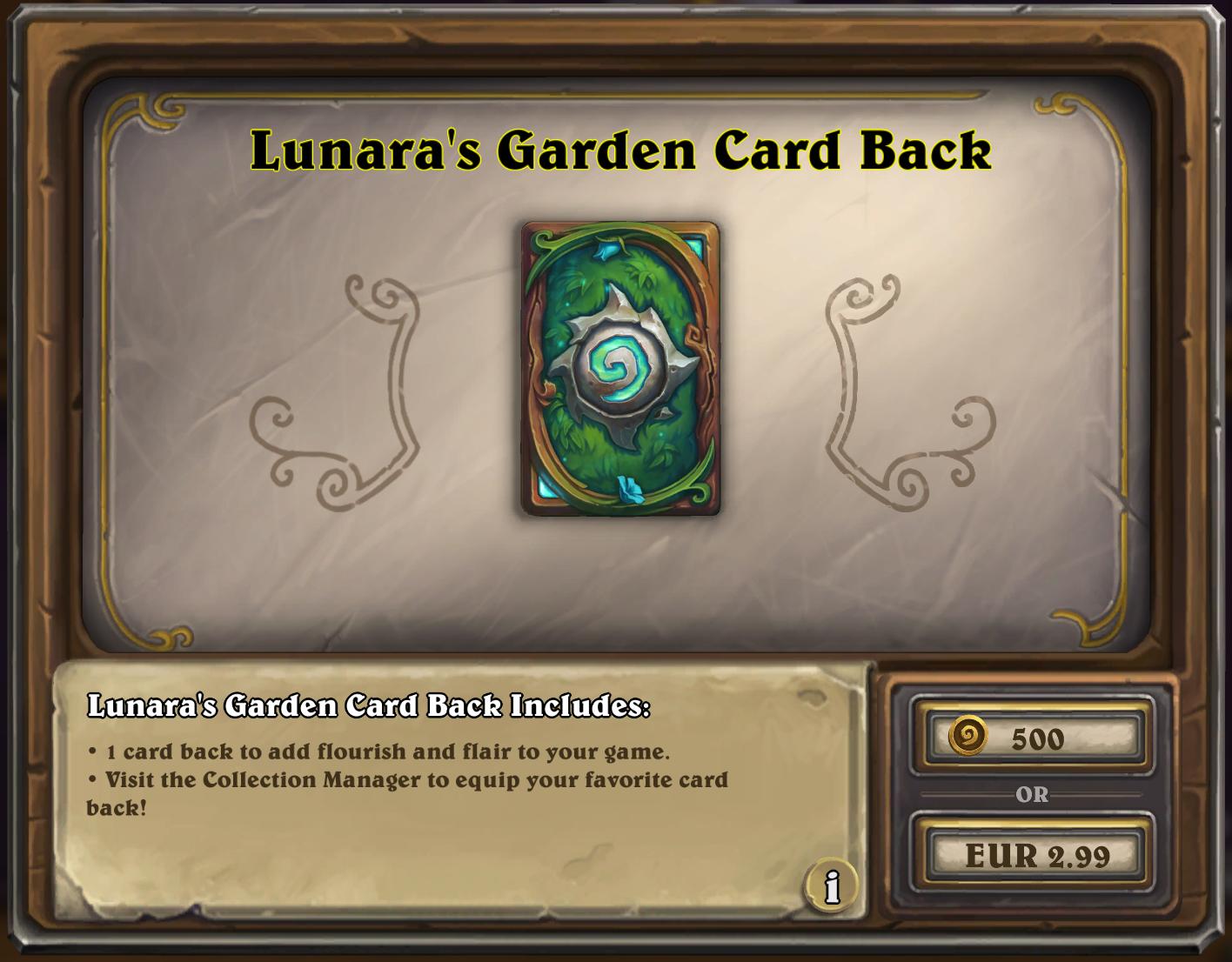 Lunara's Card Back