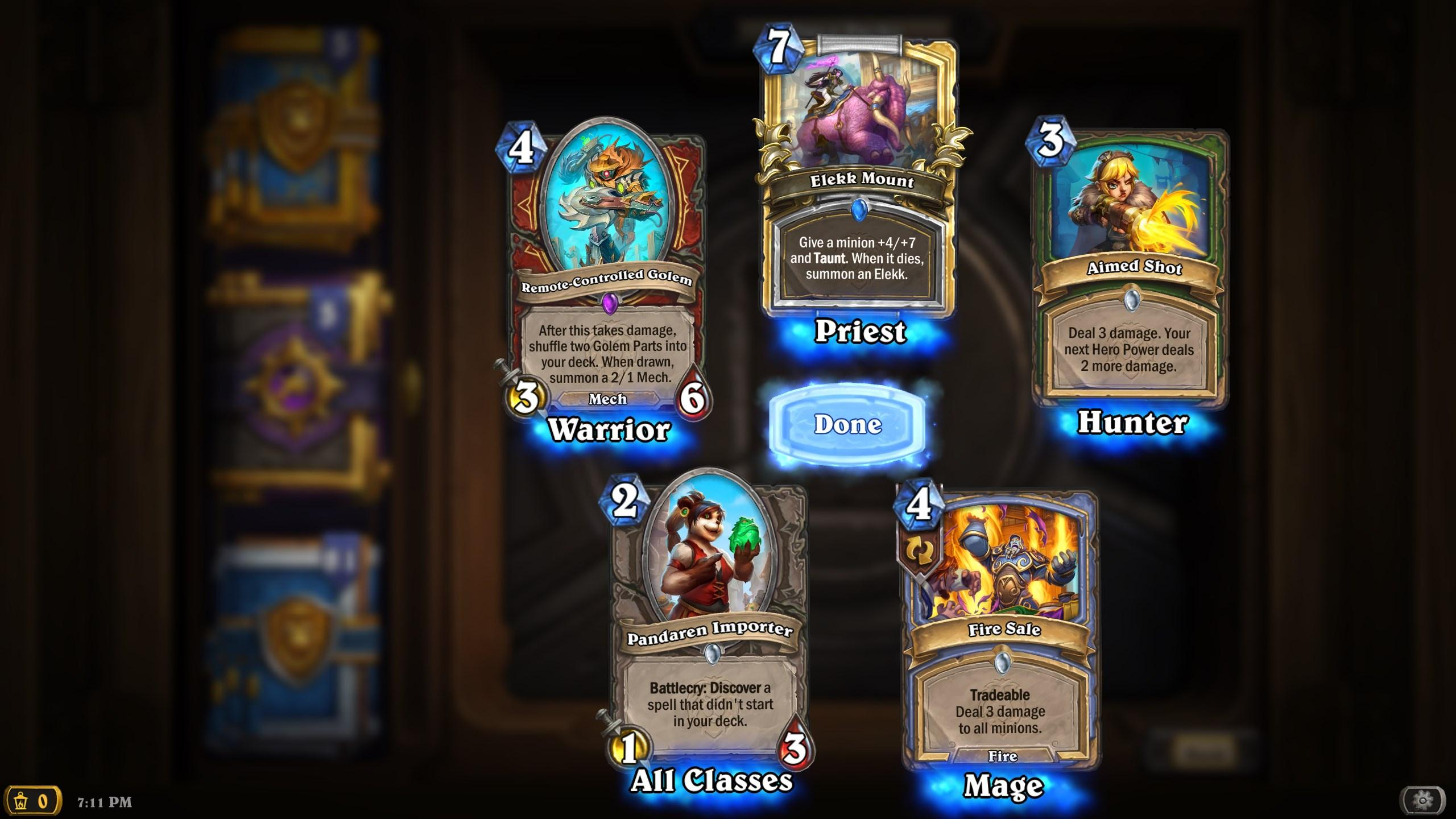 Pack Opening United in Stormwind