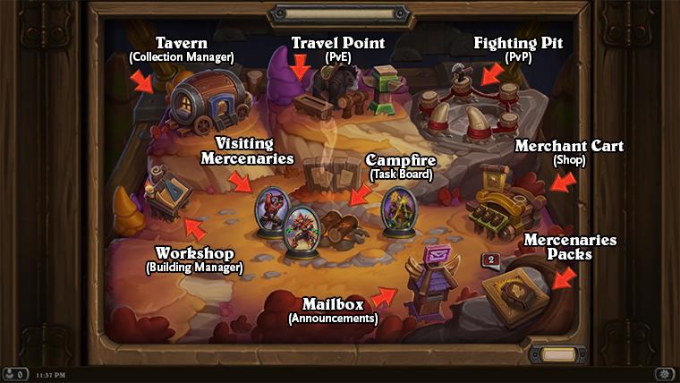 Mercenary Village