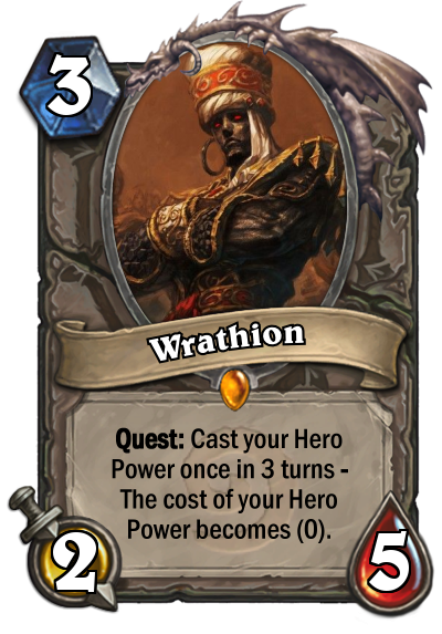 New Hearthstone Mechanic: Quests  - Fan Creations