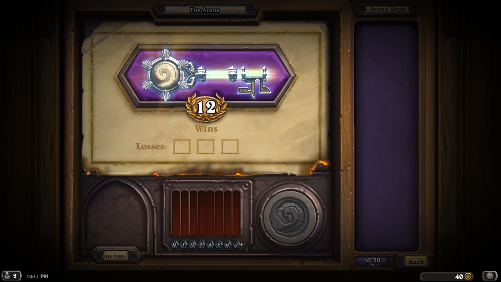 12 Win Decklists The Arena Hearthstone Game Modes Hearthpwn Forums Hearthpwn