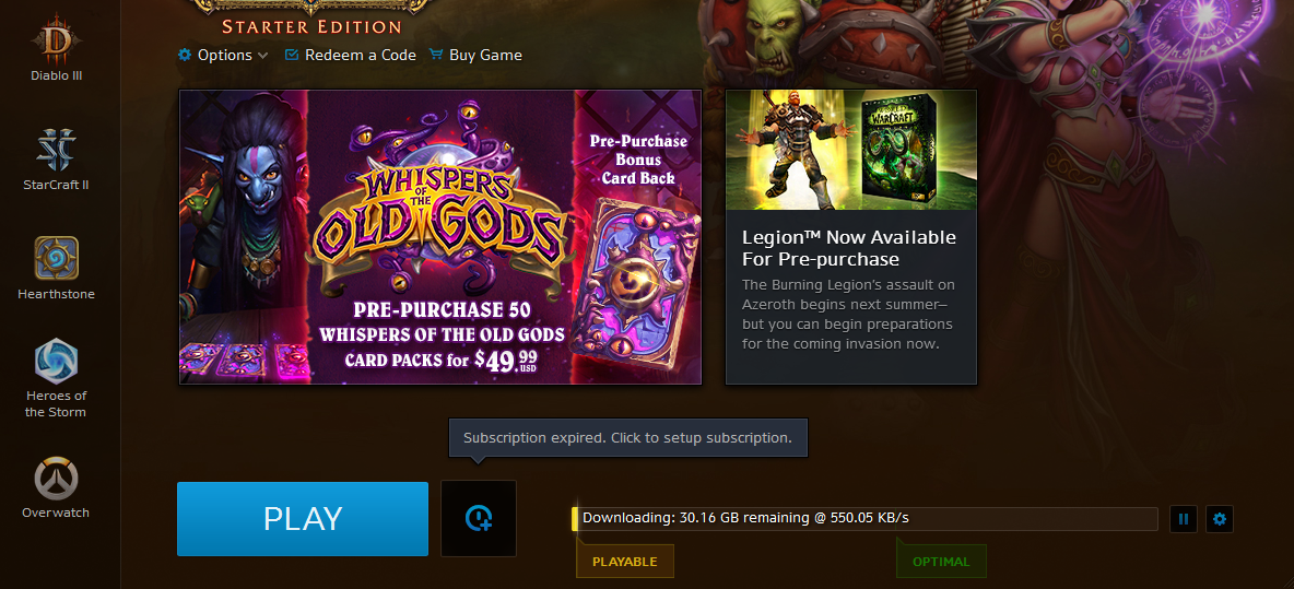 how to get free wow subscription