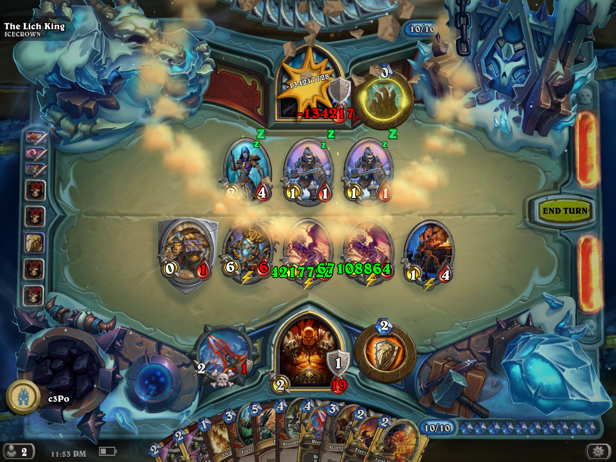 How are yall doing with Lich King? - Adventures