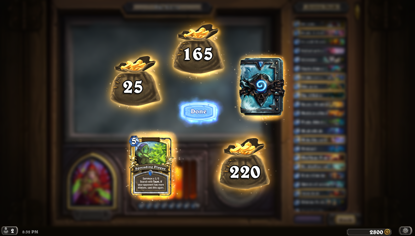 12 Win Decklists  - The Arena - Hearthstone Game Modes