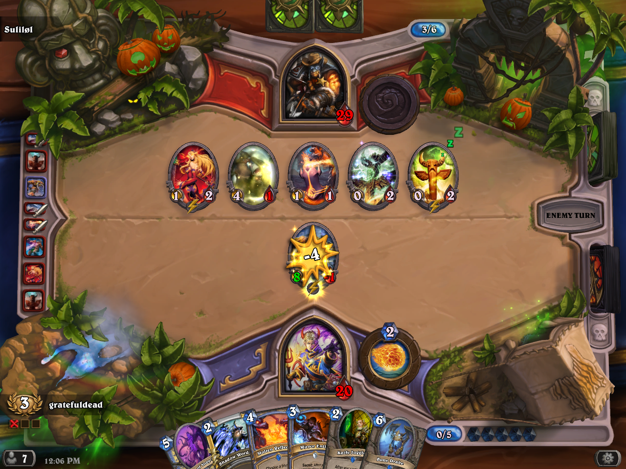 Arena Bug: Run ends on 2 loses, not 3  - The Arena - Hearthstone