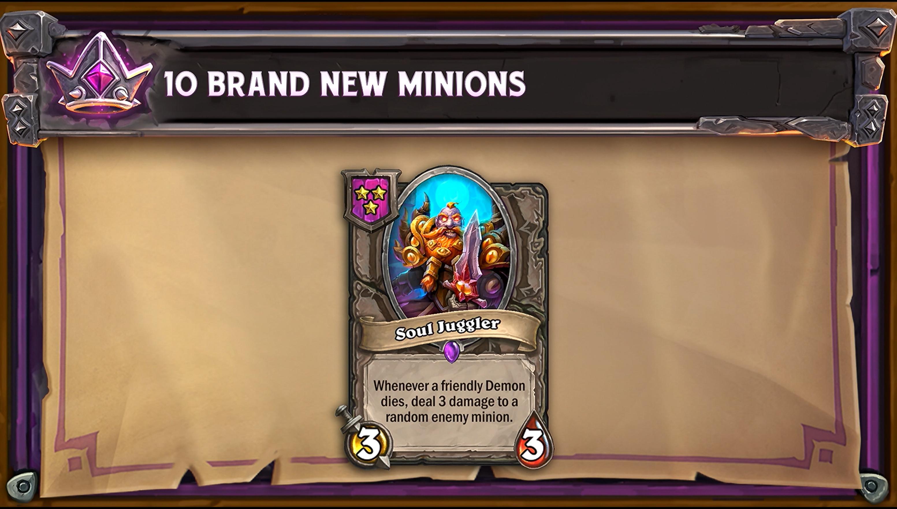 Unique Minions