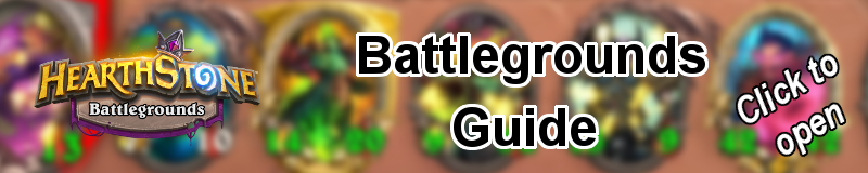 Battlegrounds Guide