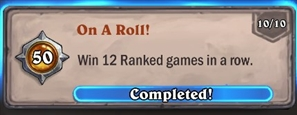 On a roll Priest