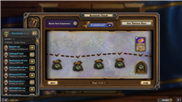 Hearthstone Screenshot MARCH 2nd 2021 FINISHED level 350