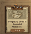 Stormwind Weekly Quest