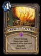 Accursed Bargain Card