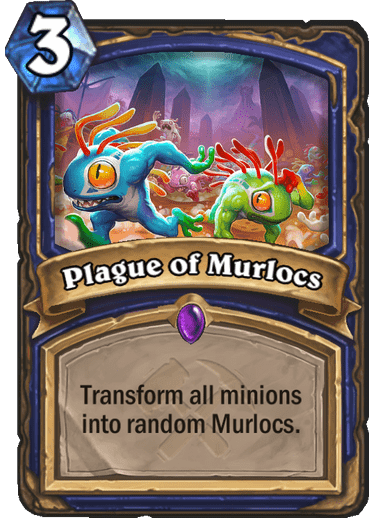 New Card Revealed Plague Of Murlocs News Hearthpwn