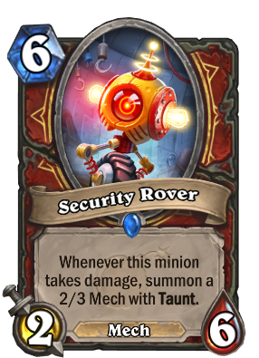 Security Rover - Hearthstone Cards
