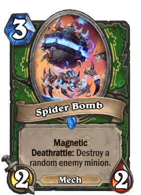 Spider Bomb - Hearthstone Cards