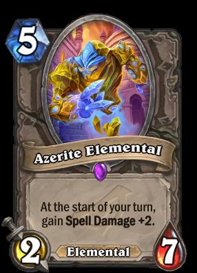 Azerite Elemental - Hearthstone Cards