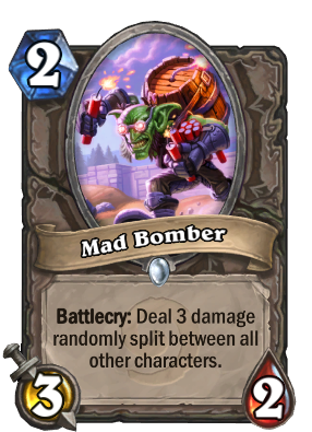Mad Bomber - Hearthstone Cards