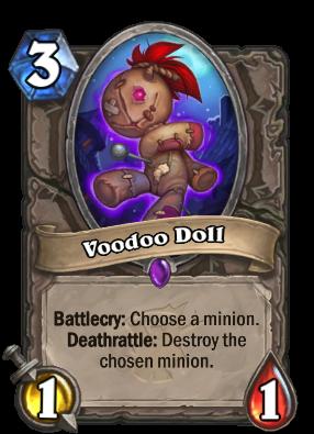 Voodoo Doll - Hearthstone Cards