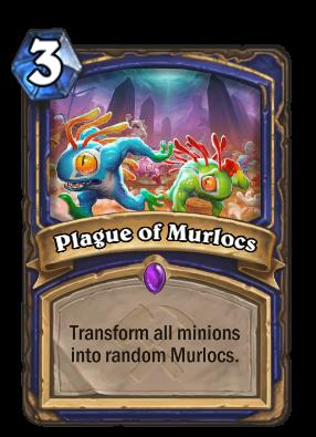 Plague of Murlocs - Hearthstone Cards