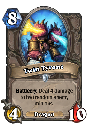 Twin Tyrant Hearthstone Cards